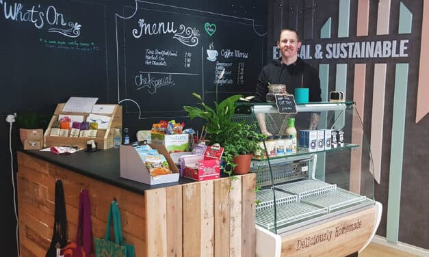 New look for food store thanks to films