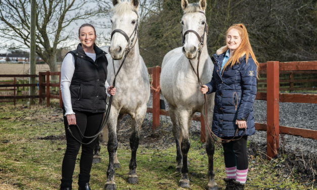 LOCAL HORSE RIDING CENTRE PLANS TO BOUNCE BACK FROM DIFFICULT YEAR WITH NEW ATTRACTION