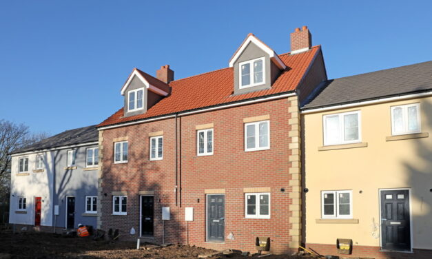 High quality new homes blend with historic Tees Valley village