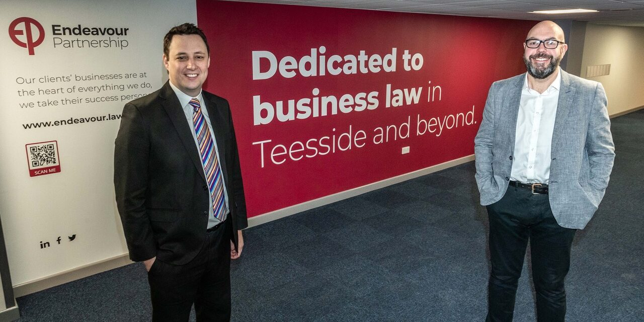 THE ENDEAVOUR PARTNERSHIP BRINGS ANOTHER BOOST TO TEESSIDE'S AMBITIOUS REGENERATION PLANS