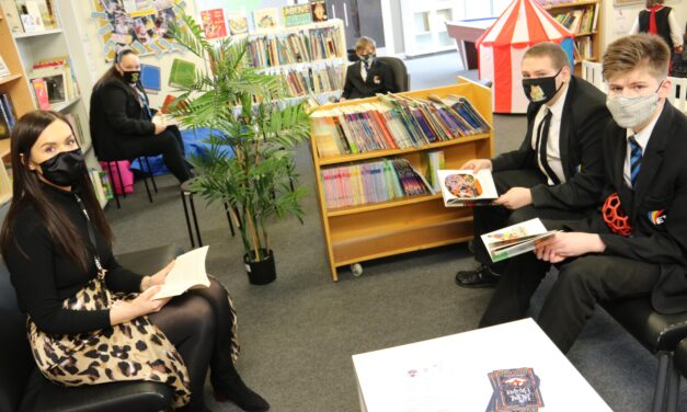 New library boosts reading opportunities at Darlington special needs school