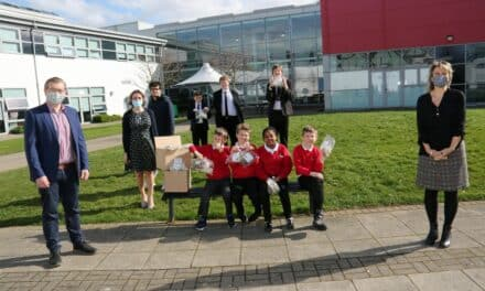 Chocolate surprise for hard-working pupils