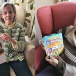 Elderly read for youngsters on World Book Day