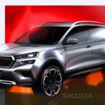 ŠKODA Kushaq: Design sketches offer a preview of the new SUV for the Indian market