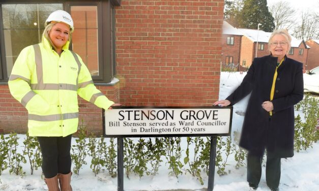 Developer pays tribute to long serving late councillor