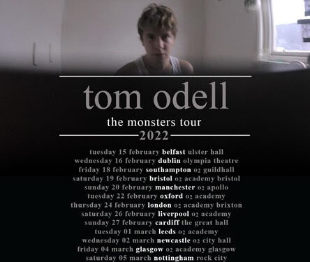 Tom Odell announces UK and Ireland 2022 tour