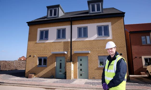 New residents enjoying their factory built homes in Darlington
