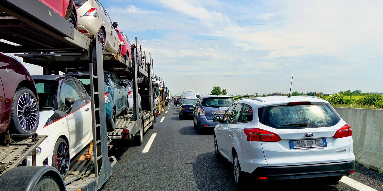Road ahead…more car journeys in the future and fewer people using public transport