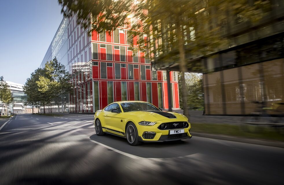 Track-ready Ford Mustang Mach 1 lands in UK this summer