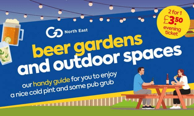 Beer gardens and outdoor spaces across the North East