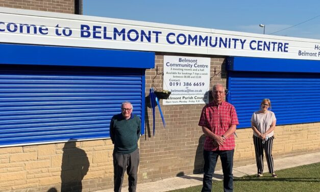 New Look For New Room At Belmont Community Centre Thanks To Latest Banks Group Grant