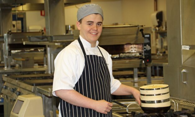 Student makes final of national cooking competition