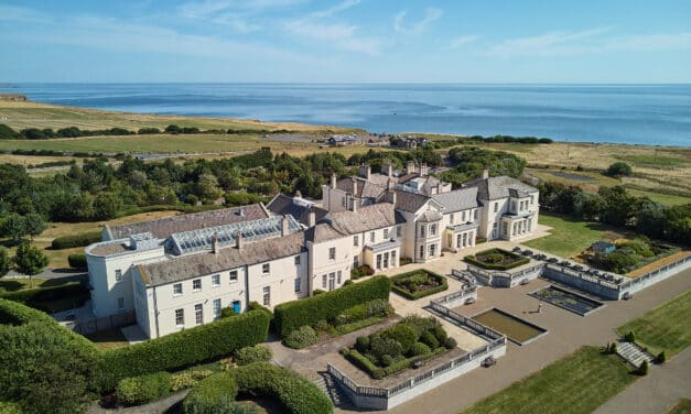 New outdoor dining, pop up bar and live performances at Seaham Hall this summer