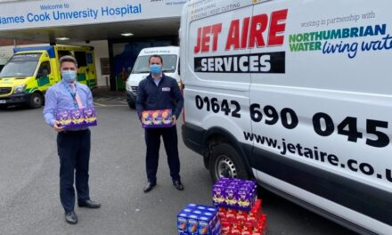 Egg-cellent gesture from Jet Aire Services