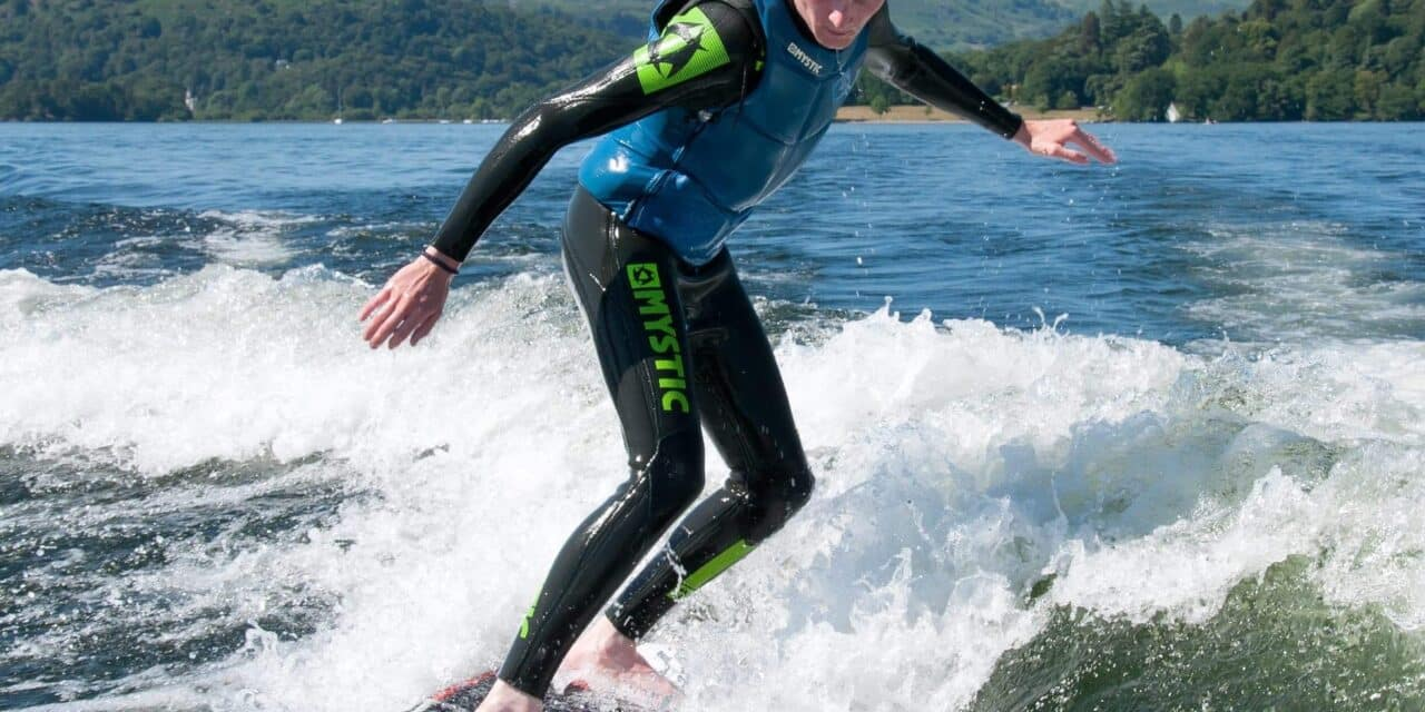 Thrills and spills with new watersports combo at Low Wood Bay