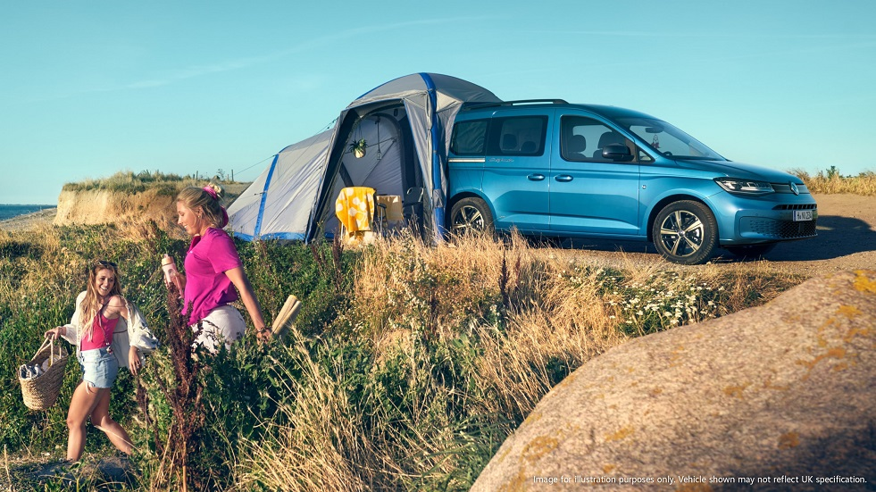 Pricing announced for new Volkswagen Caddy California, starting from £29,965*