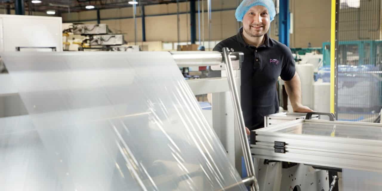FURTHER INVESTMENT SPEEDS UP PRODUCTION OF PPE