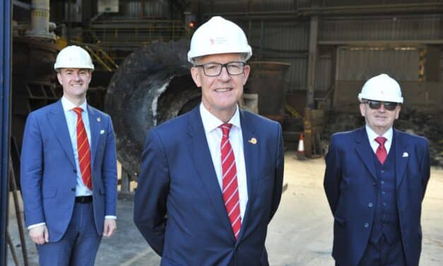 Leading steel industry figure Jon Bolton appointed Chairman of the Materials Processing Institute