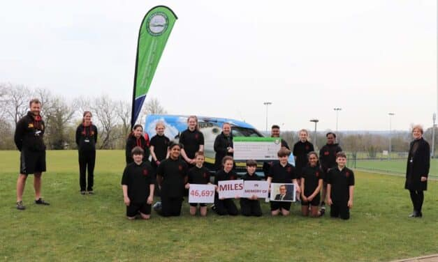 Students and staff smash challenge and fundraising targets in memory of Dave Clark