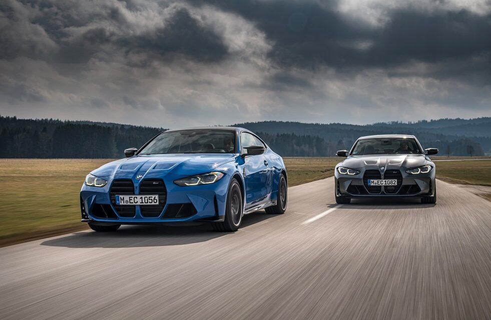 BMW M3 Competition Saloon M xDrive and BMW M4 Competition Coupé M xDrive make their debut