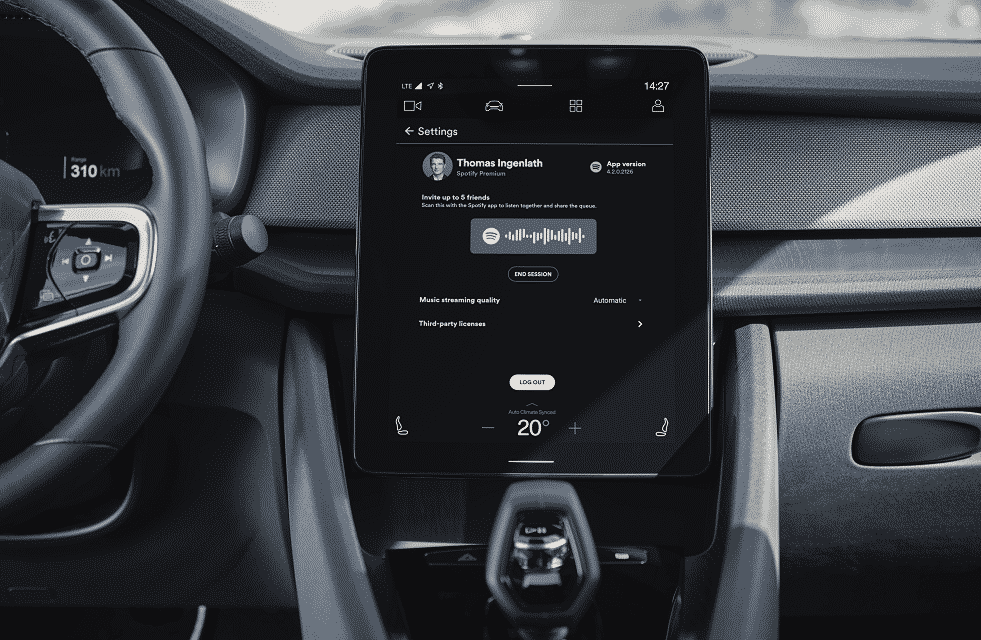 Polestar 2 now features Spotify Group Sessions Beta