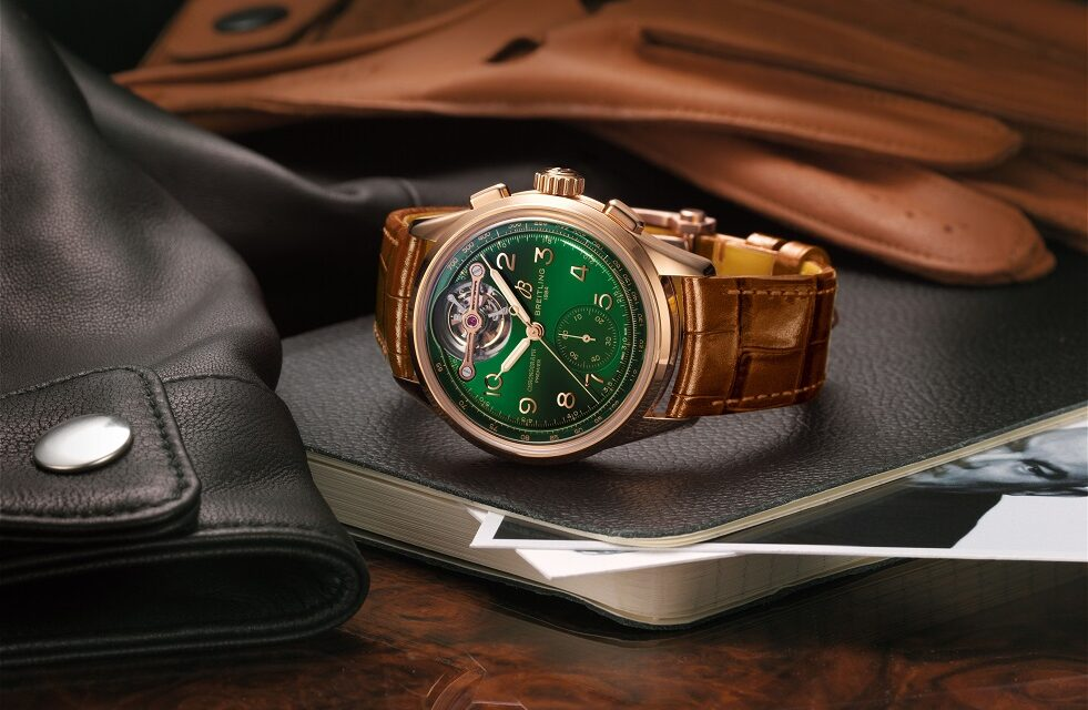 Limited Edition with tourbillon caliber – the latest yield from the Breitling and Bentley partnership