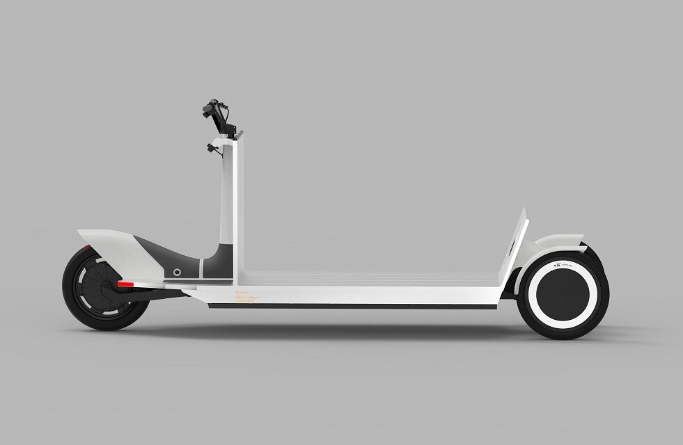 Industry leaders in design, mobility and aluminium collaborate around a shared vision, presenting Re:Move