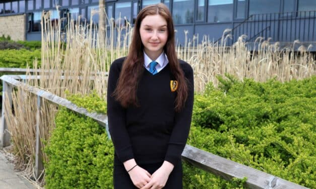 Student supports Mind Charity and is set for a career as a mental health nurse