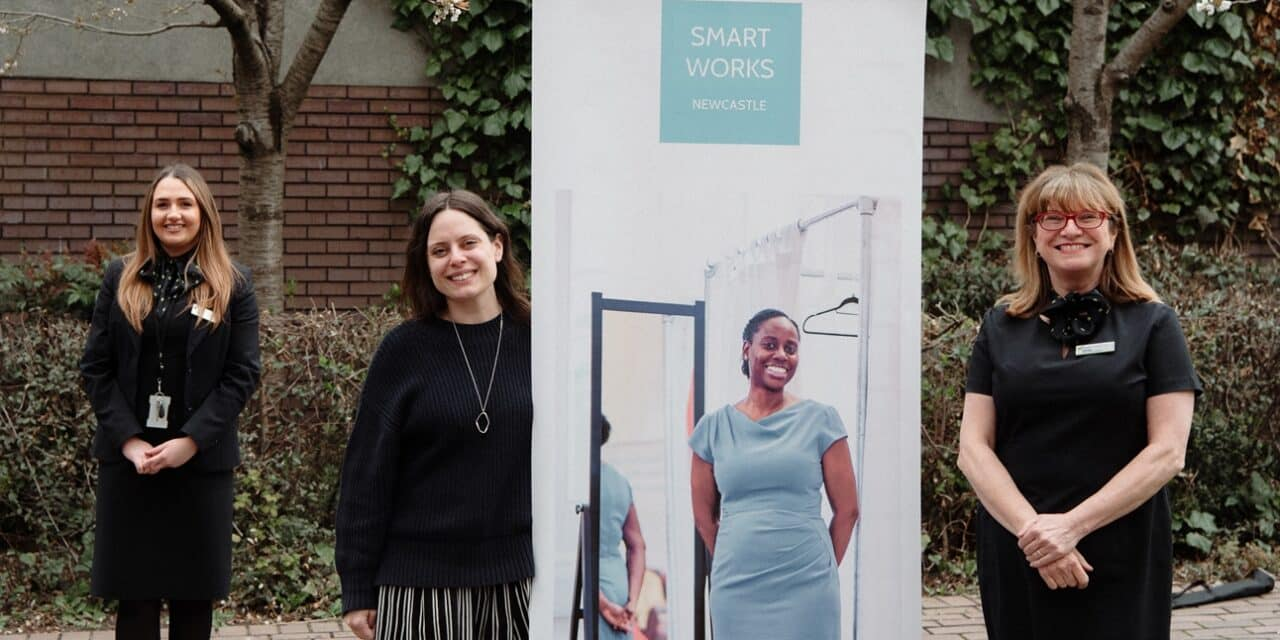 Smart Works Charity Dressed For Online Success With Newcastle Building Society Grant Support