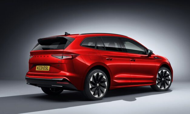 ŠKODA Enyaq iV line-up charges ahead with new SportLine model open for orders