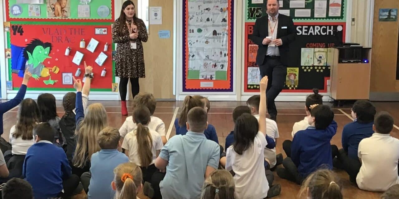 LOCAL SCHOOLS ARE HELPING TO WRITE A BOOK FOR CHARITY