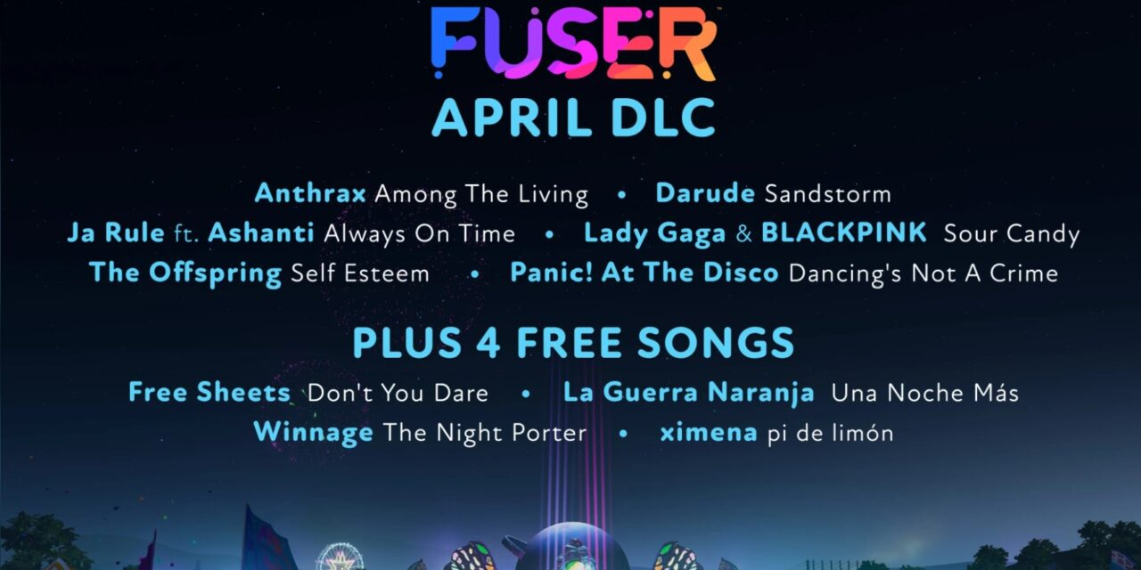 New FUSER Tracks for April Kick Off with Darude and Panic! At The Disco