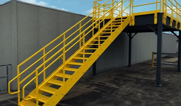 (Mezzanine Code Standards Guide) For Requirements For Mezzanine Stairs