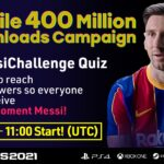 eFootball PES 2021 MOBILE SURPASSES 400 MILLION DOWNLOADS