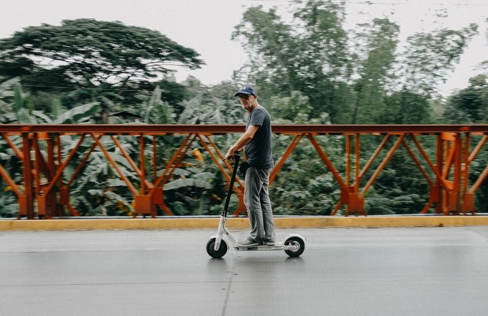Can you ride electric scooters in Melbourne, Australia?