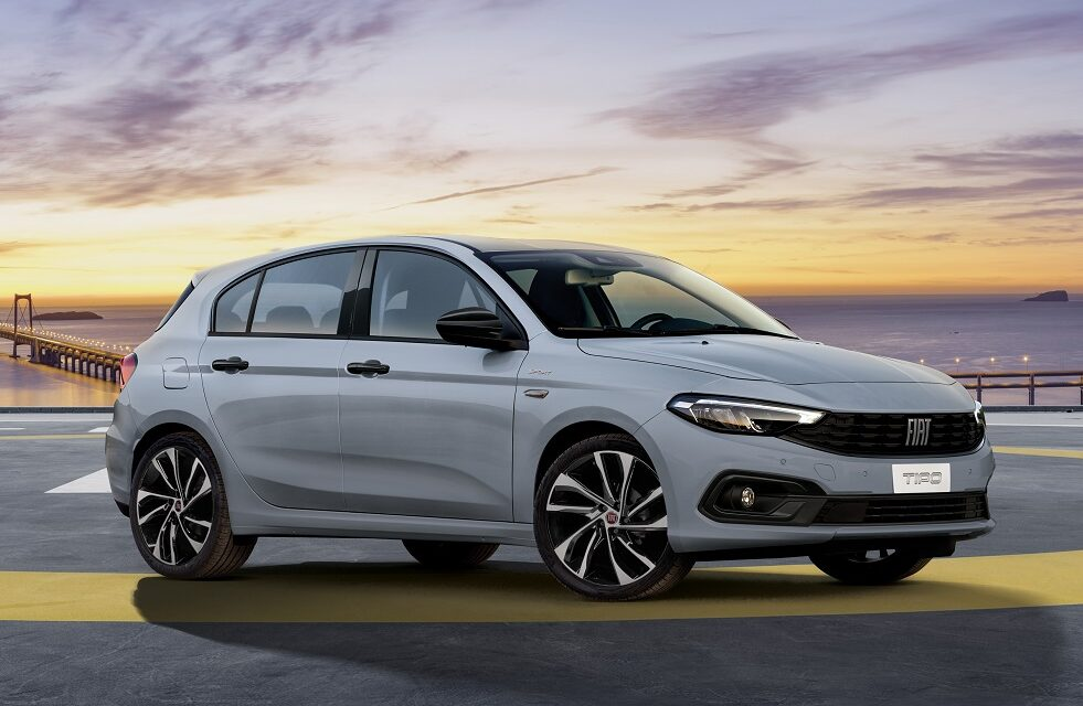 New Fiat Tipo City Sport brings distinctive and stylish sporty look to Tipo range