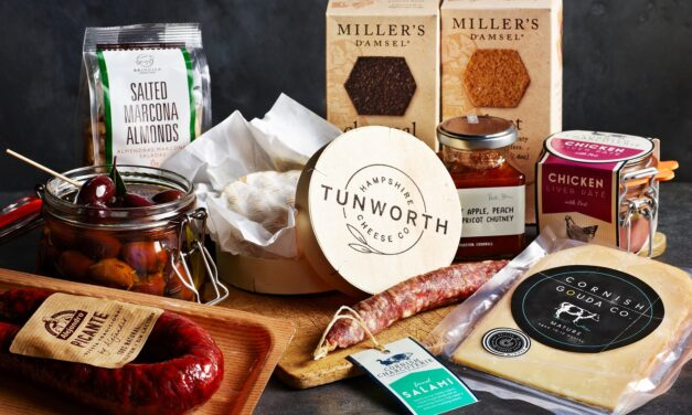 Hampshire's Tunworth Cheese makes its debut in the Rick Stein at Home box