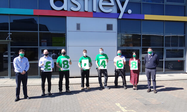 Astley Signs step up to the fundraising challenge with Macmillan Cancer Support partnership