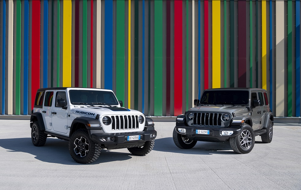 New Jeep® Wrangler 4xe: The best of 4×4 goes electric to go anywhere