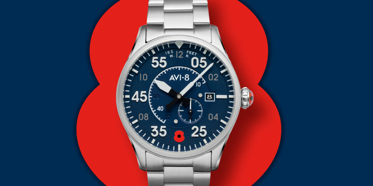 AVI-8 Watches announced as Royal British Legion official watch partner in their centenary year