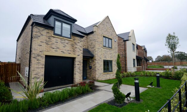 Construction work continues apace at Westerhope development
