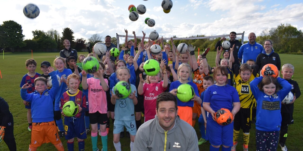 Young Durham City Footballers On The Ball Thanks To Banks Group Grant
