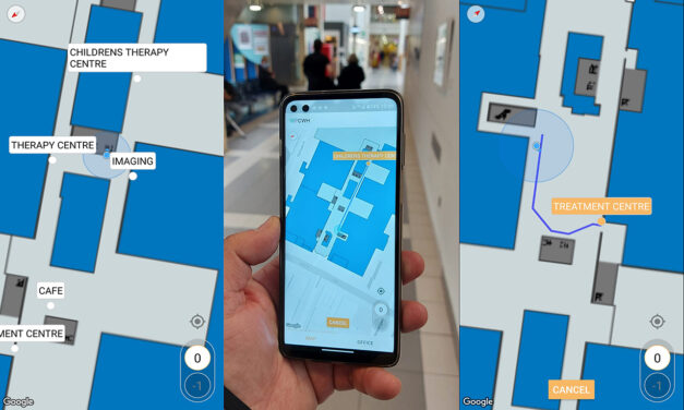 Unique indoor way-finder launched at Chelsea & Westminster Hospital NHS Foundation Trust – improving patient experience and operational efficiency