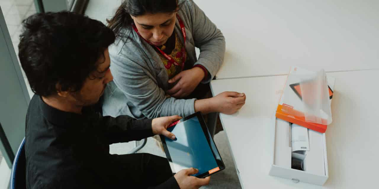 VODAFONE JOINS FORCES WITH GOOD THINGS FOUNDATION AND MENCAP
