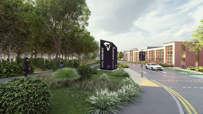 Plans for Phase Two Development Submitted by AirView Park