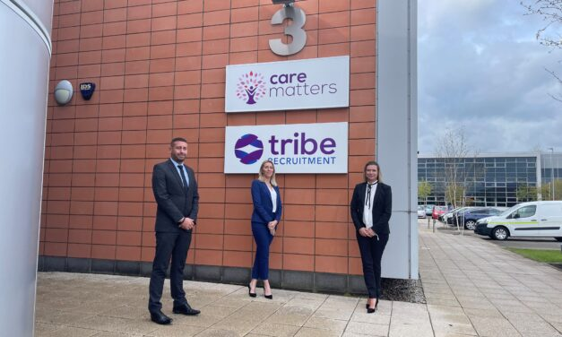 MANAGEMENT TEAM OF GROWING STOCKTON CARE COMPANY EXPANDS