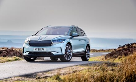 New Enyaq iV charges to first UK industry title with top Electrifying.com honour