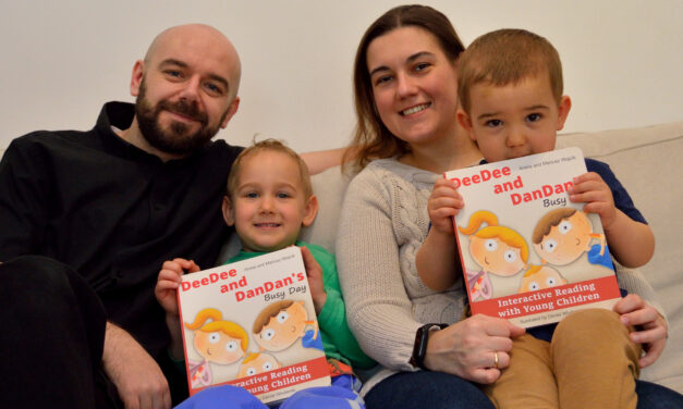 New parenting book to get kids talking