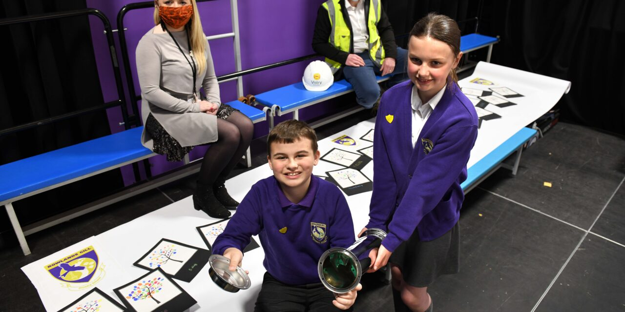 Tapestry inspires pupils to record the Covid times in history