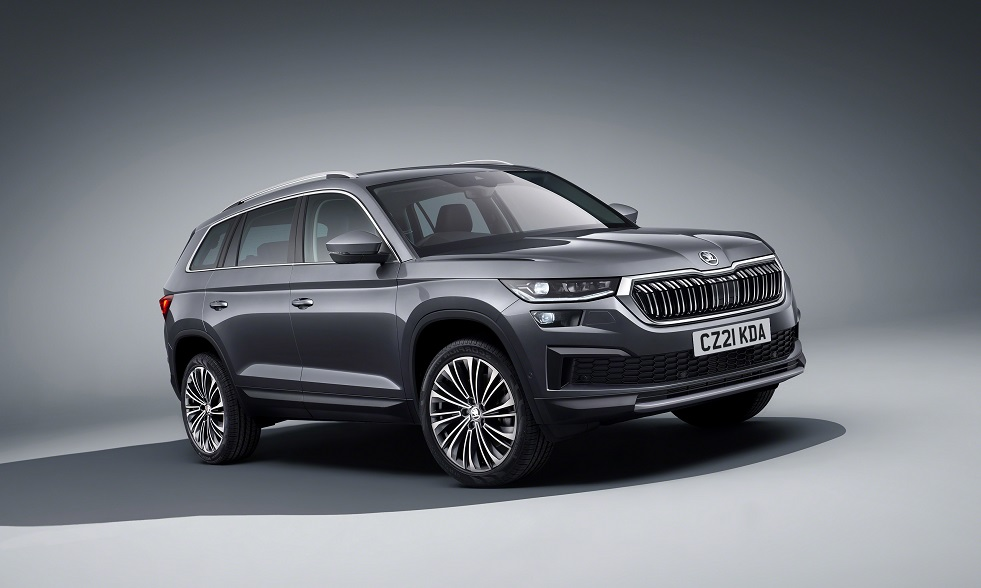 Striking new look and increased specification for facelifted ŠKODA Kodiaq